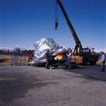 imballaggio con accoppiato barriera per un elicottero