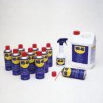 serie di olii lubrificanti wd 40