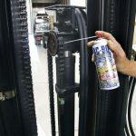applicazione di lubrificante per ingranaggi
