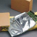 imballaggio completo di componenti elettriche
